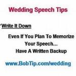 wazoka wedding speech